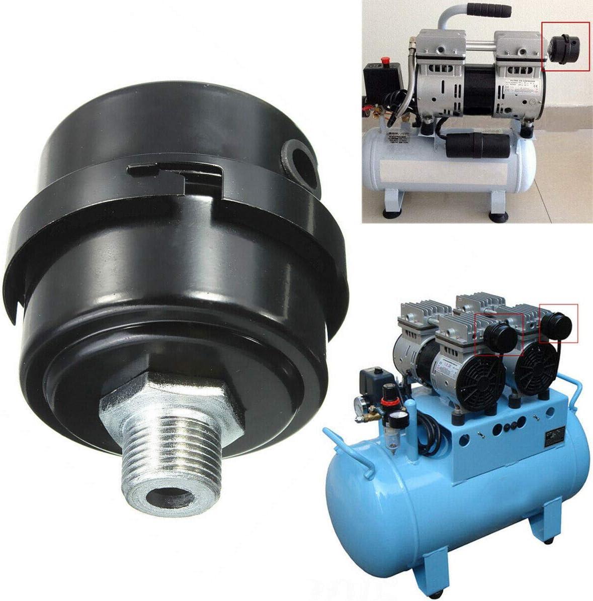 """Filter Compressor Intake Filtration Noise Muffler Silencer For 3//4/"""" Threads ST3"""