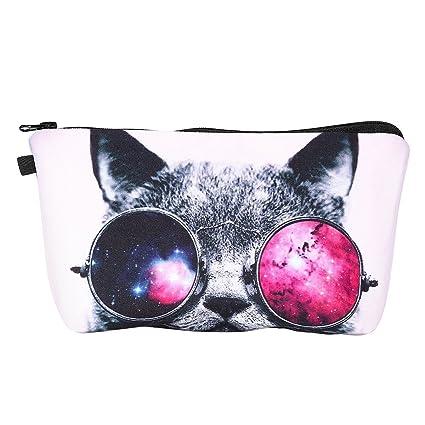3fdf7baff6d Frcolor FRCOLOR Makeup Bag 3D Printing Toiletry Bag for Women ...