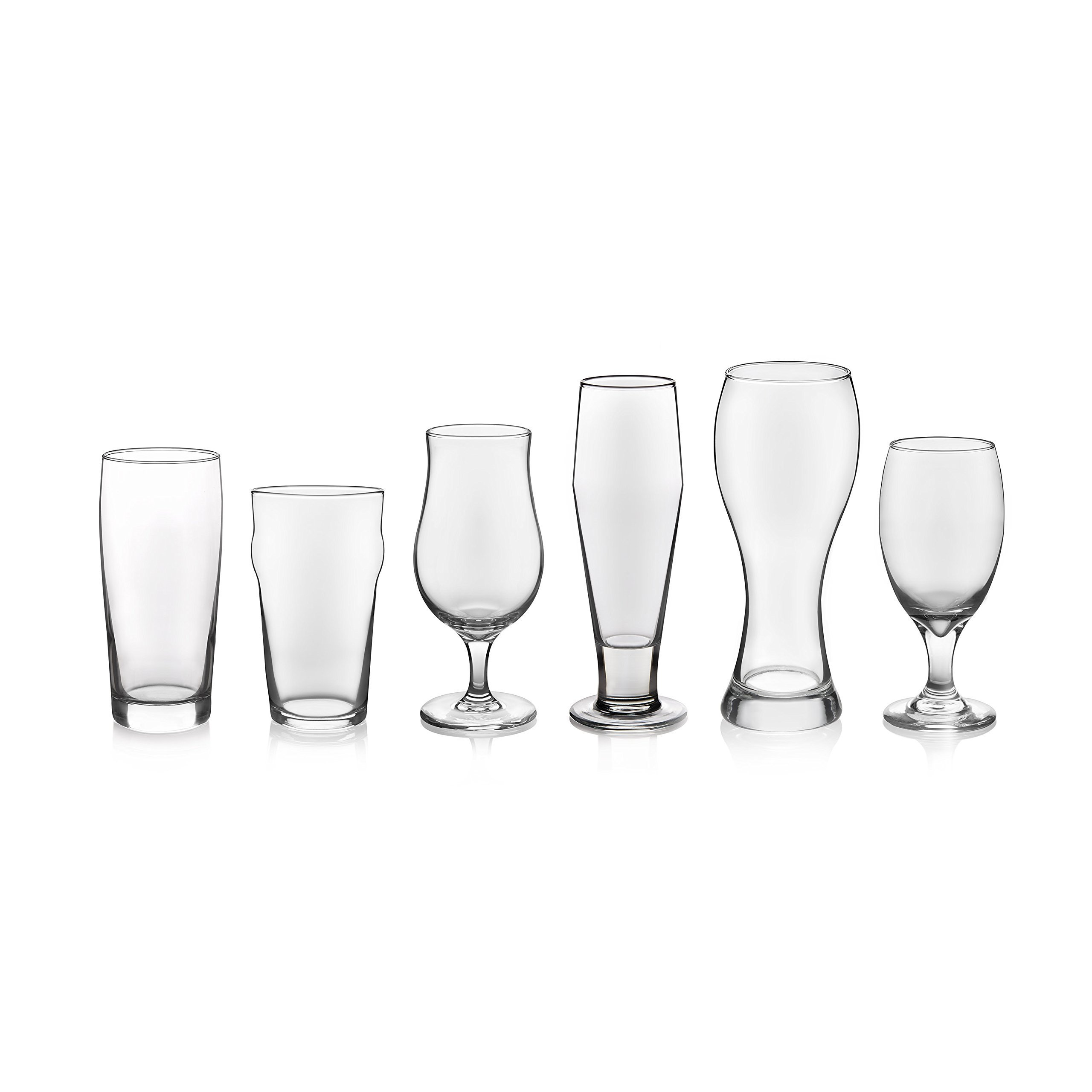 Libbey Craft Brews 6-piece Assorted Beer Drinkware Glass Set by Libbey (Image #2)