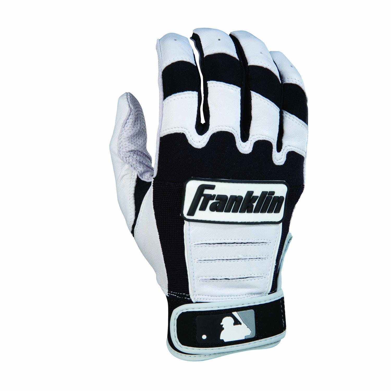 Franklin (フランクリン) スポーツ MLB CFX Pro バッティング グロ―ブ B006DOIMY8 Adult Large|ブラック/パール ブラック/パール Adult Large