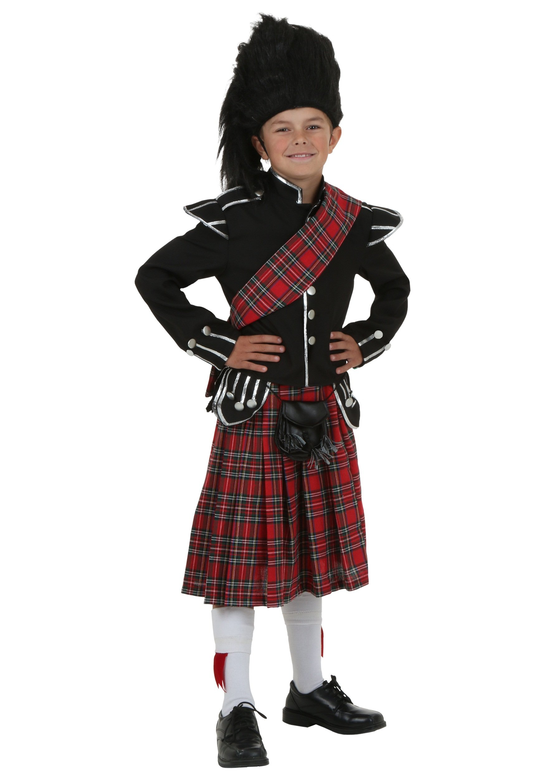 Child Scottish Costume - S