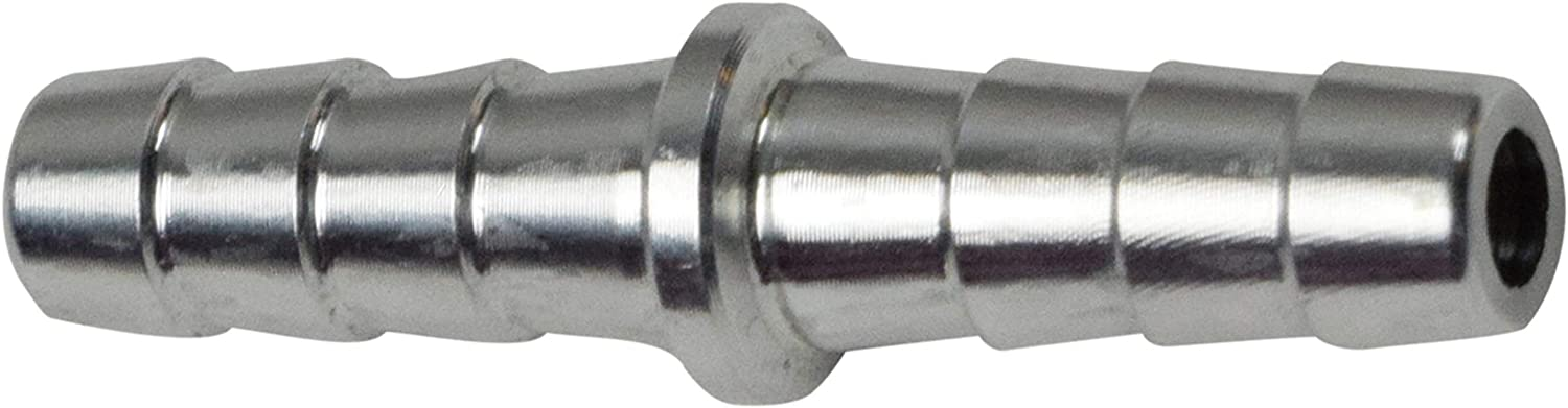 """ICT Billet 1/4"""" Hose Barb .250 Inch Splice Coupler Mend Repair Connector Fitting Adapter AN627-04A"""