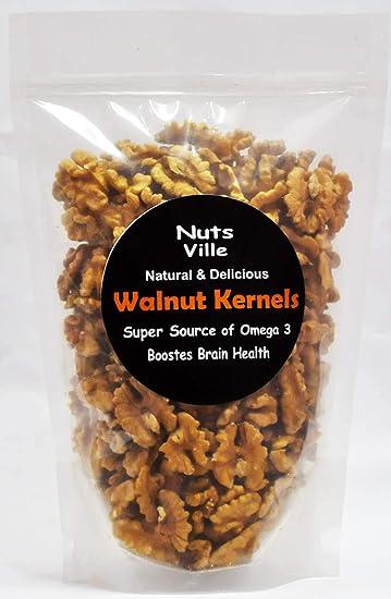 Nutsville Chile Walnuts Without Shell 400g (Akhrot Giri) Most Premium