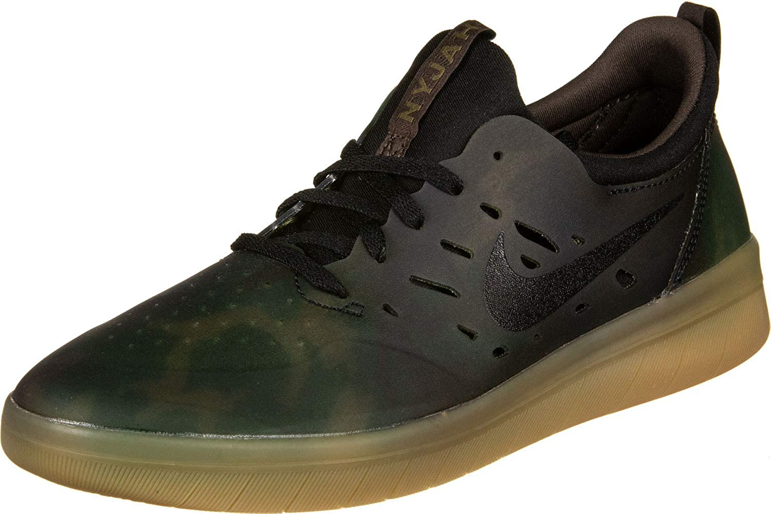 save off hot new products cheapest price Nike SB Nyjah Free Premium Camo Men's Skateboarding Sneaker