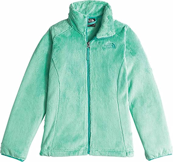 83b7678e3 The North Face Kids Girl's Osolita Jacket (Little Kids/Big Kids) Ice Green