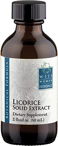 Wise Woman Herbals – Licorice Solid Extract – 2 oz – for Immune Support – Promotes Normal Healthy Liver and Adrenal Gland Function Supports Digestive Health, Upset Stomach and Indigestion