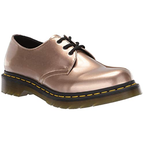 Dr.Martens Damen 1461 Vegan Chrome Paint Metallic Synthetic Schuhe