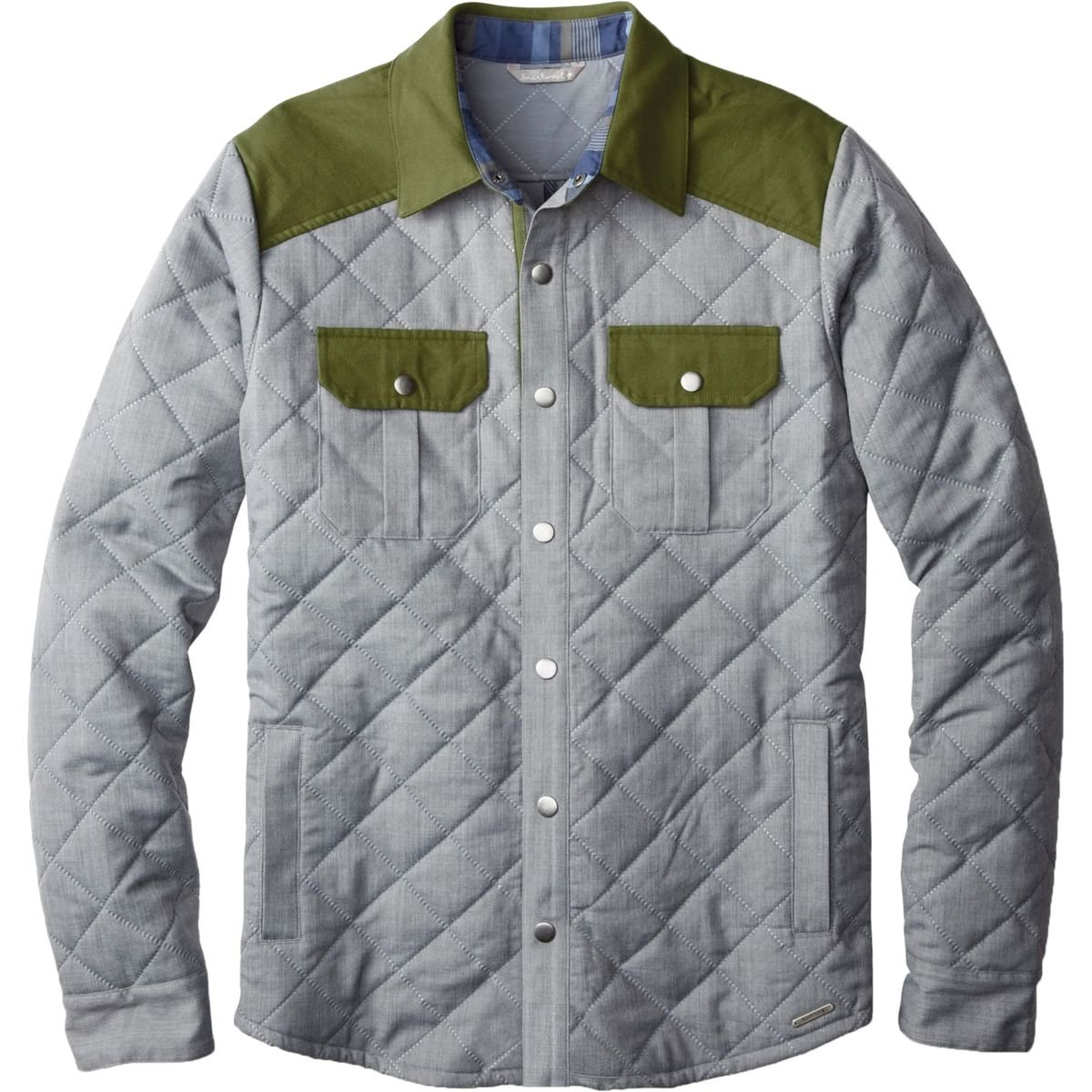 Amazon.com: Smartwool Mens Summit County Quilted Shirt Jacket ... : mens quilted shirt - Adamdwight.com