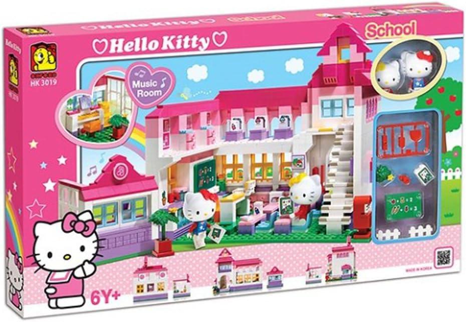 OXFORD Hello Kitty School Kids Block HK3019 732 PCS オックスフォードハローキティスクールキッズブロックHK3019 732 PCS [並行輸入品]