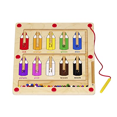 Constructive Playthings Magnetic Color Matching Game for Kids, Toddler Puzzles: Industrial & Scientific
