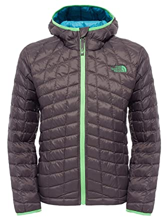 THE NORTH FACE B Thermoball Hoodie - Veste pour Enfant, Gris, Taille ... 758bb6bdb5ea