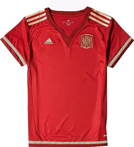 adidas Mujeres de España 15/16 Hogar Rojo Jersey, Rojo: Amazon.es: Deportes y aire libre