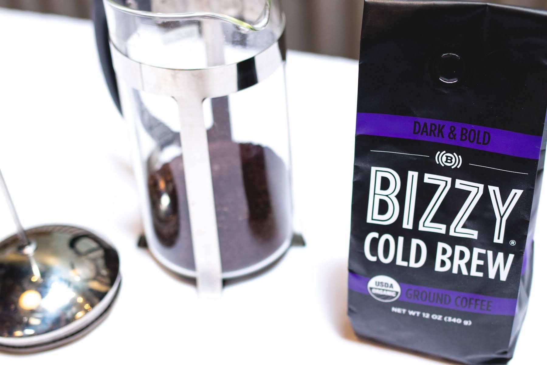 Bizzy Organic Cold Brew Coffee - Dark & Bold Blend - Coarse Ground Coffee - 12 oz by Bizzy (Image #5)