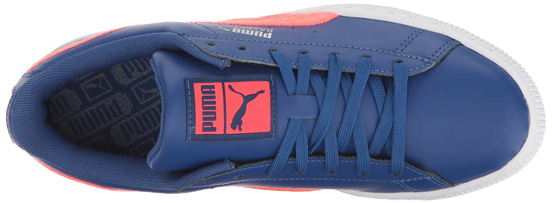 PUMA PUMA PUMA Men's Basket Classic Badge Fashion Turnschuhe, True Blau-Bright Plasma, 8.5 M US 9716ae