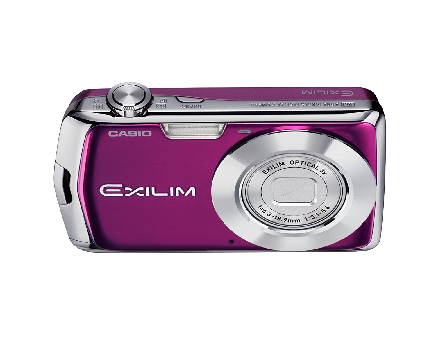 Casio Exilim Ex S5 10mp Digital Camera With 3x Optical Jam Tangan 8gb Spy Cam Watch Sport Zoom And 27 Inch Lcd Purple Old Model Point Shoot Cameras