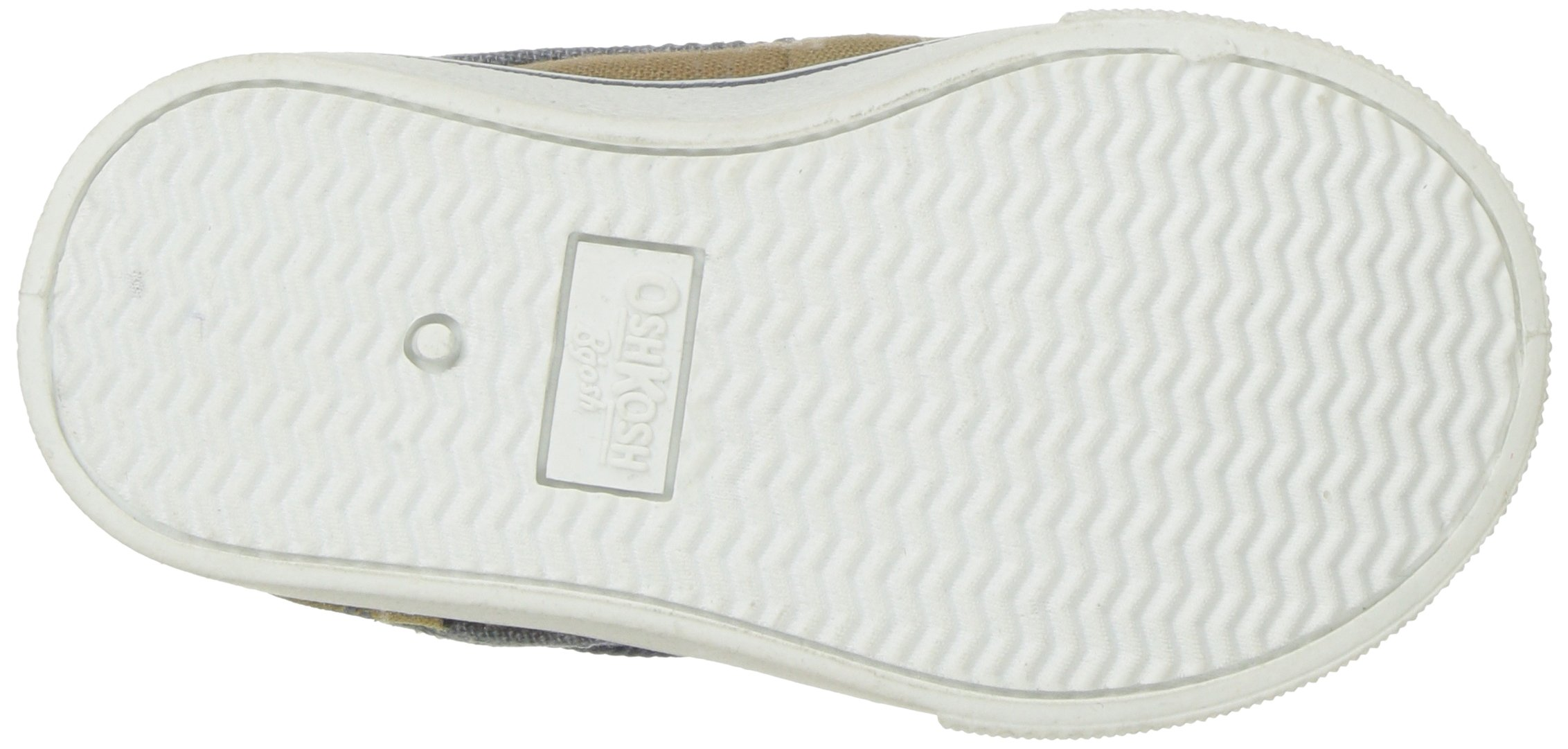 OshKosh B'Gosh Albie Boy's Boat Shoe, Khaki, 12 M US Little Kid by OshKosh B'Gosh (Image #3)