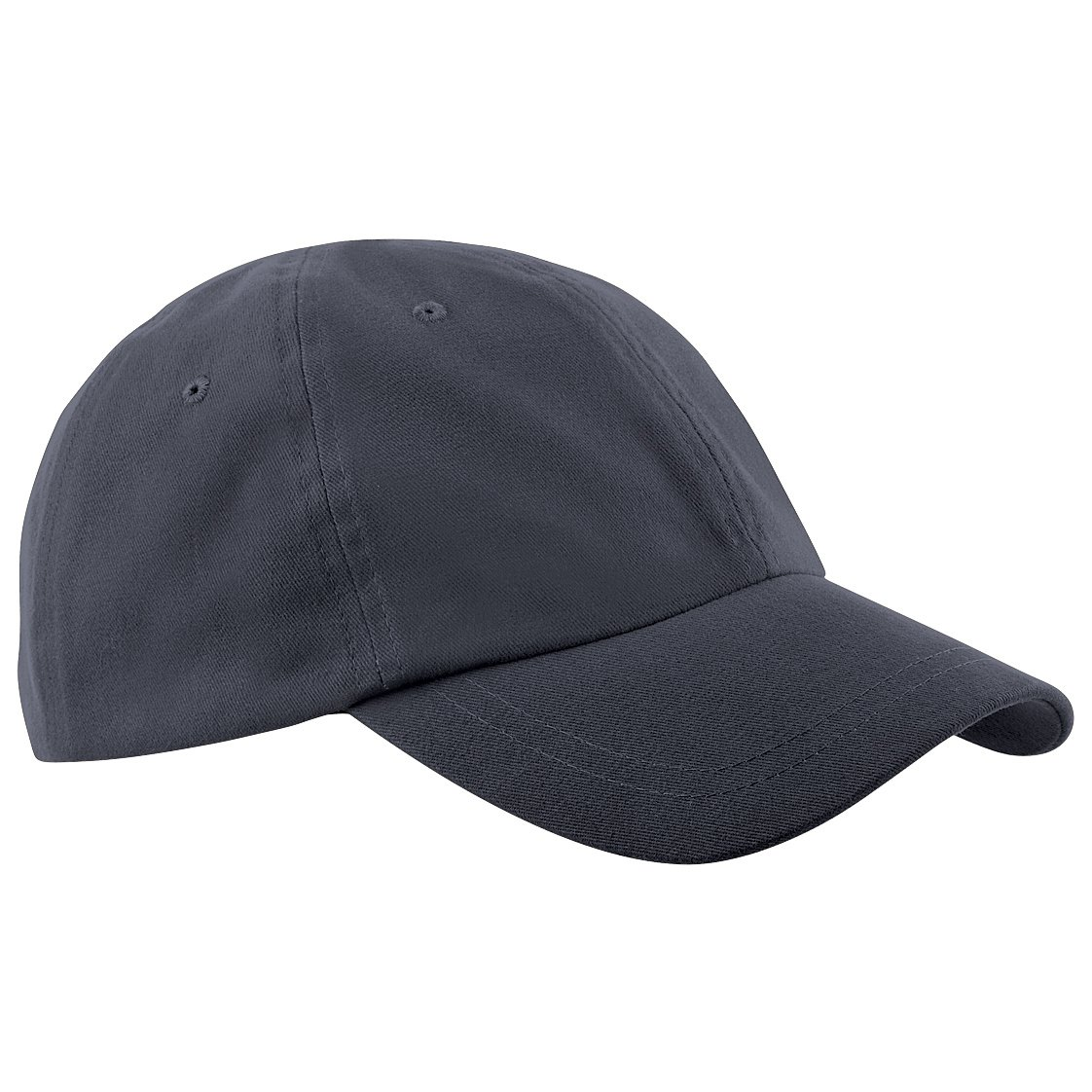 Beechfield Junior Low Profile Baseball Cap / Schoolwear / Headwear (One Size) (Graphite Grey)