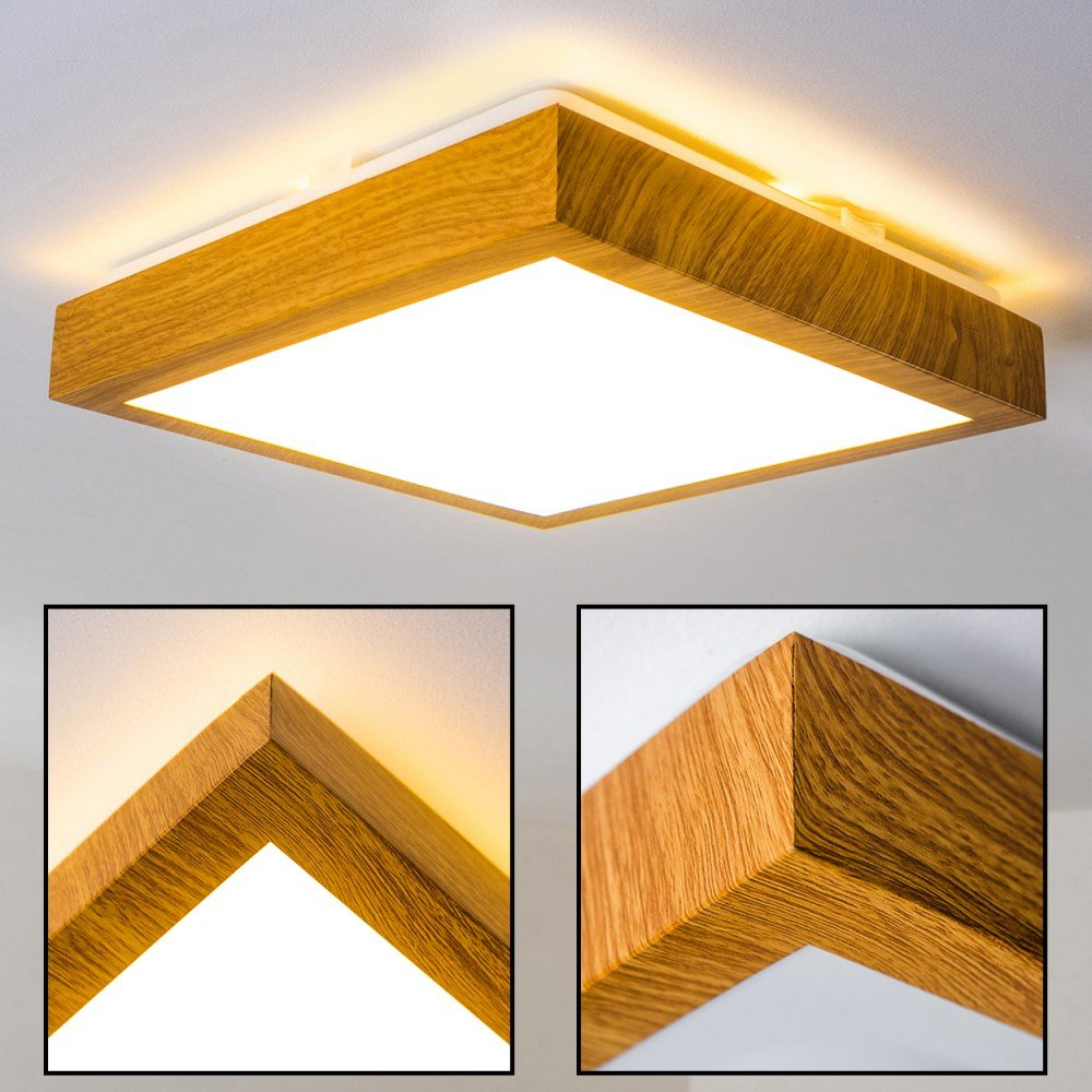 LED Deckenlampe Sora Wood