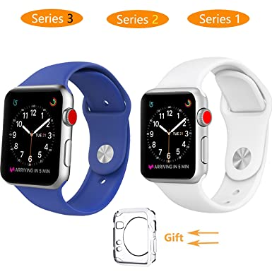 Reloj inteligente banda 42 mm, jihibo banda para Apple reloj 42 mm serie 3, ...