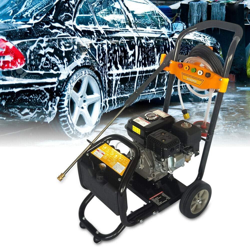 MOMOJA 2200PSI 150Bar Limpiador de Gasolina de Alta presi/ón con Pistola para Limpieza de autom/óviles