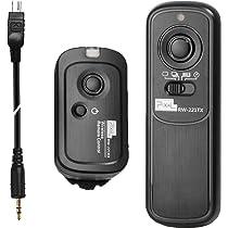 Pixel DC2-2.5mm Remote Shutter Cable for Nikon Shutter Release Connecting Cord Compatible Nikon D3100 D3200 D3300 D5000 D5100 D5200