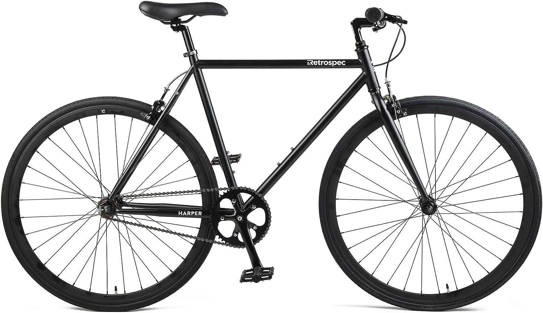 Retrospec Harper Single-Speed Fixed Gear Commuter Bike