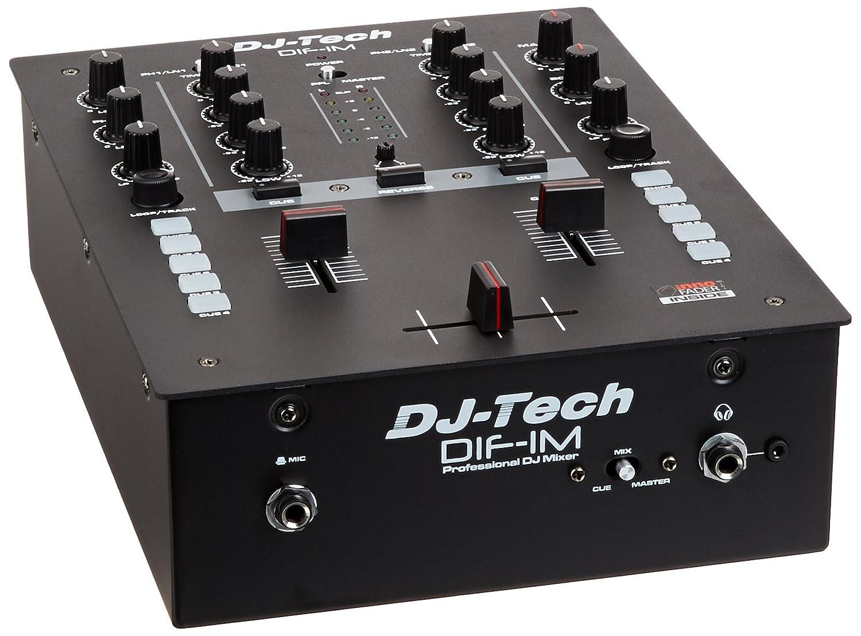 DJ-Tech dif de 1 m mezclador DJ, controlador: Amazon.es: Instrumentos musicales