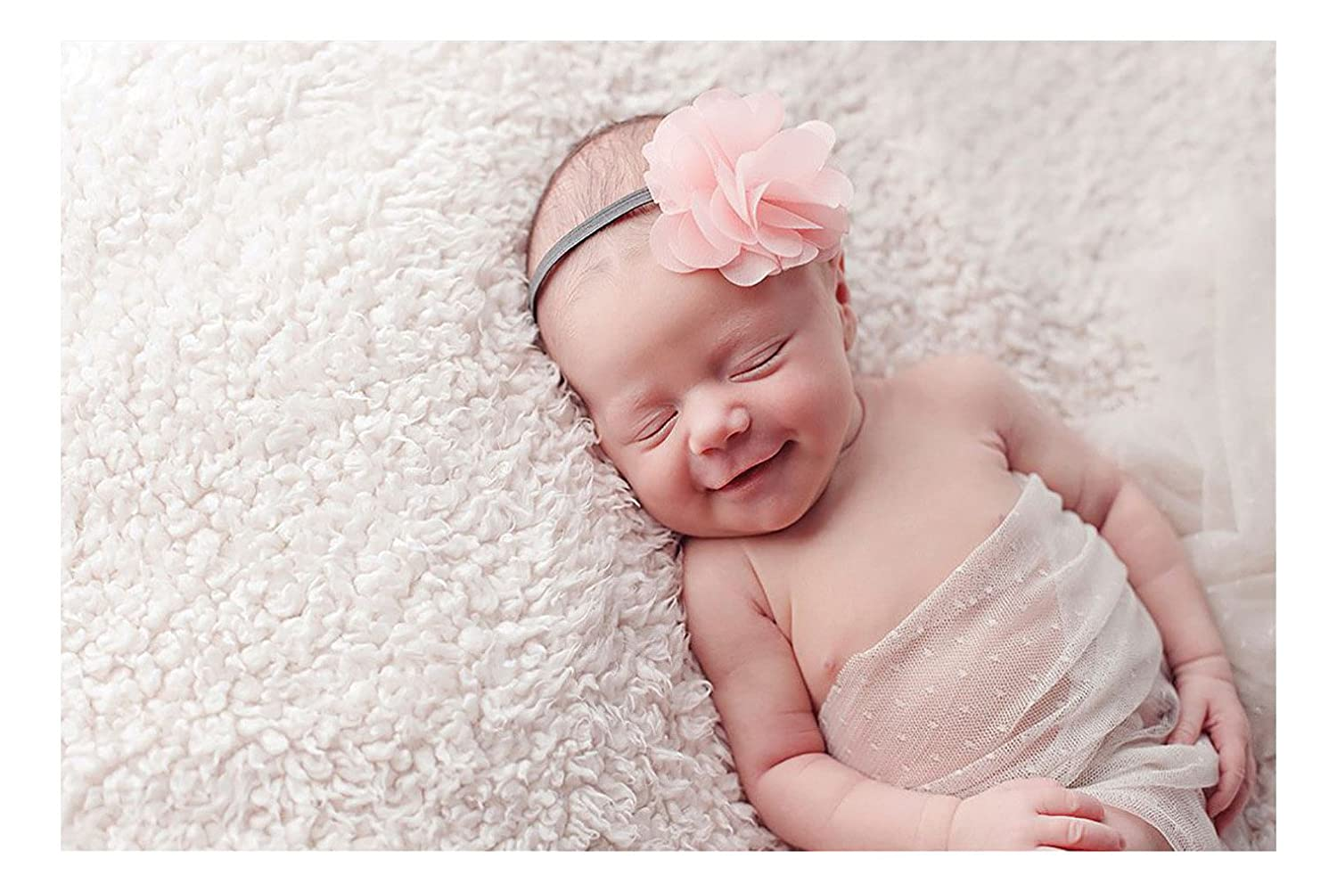 Buy Artstory Vinyl Cute Sleeping Baby Smiling Wall Sticker 40 Cm X 26 Cm X 1 Cm Aws2431 Online At Low Prices In India Amazon In
