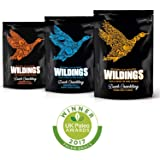 Wilding's Nutritious & Delicious Keto, Paleo, Low Carb, Duck Crackling Variety Pack 3 x 25g