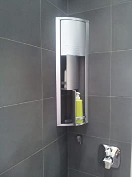 meuble rangement dangle salle de bain argent mtallis