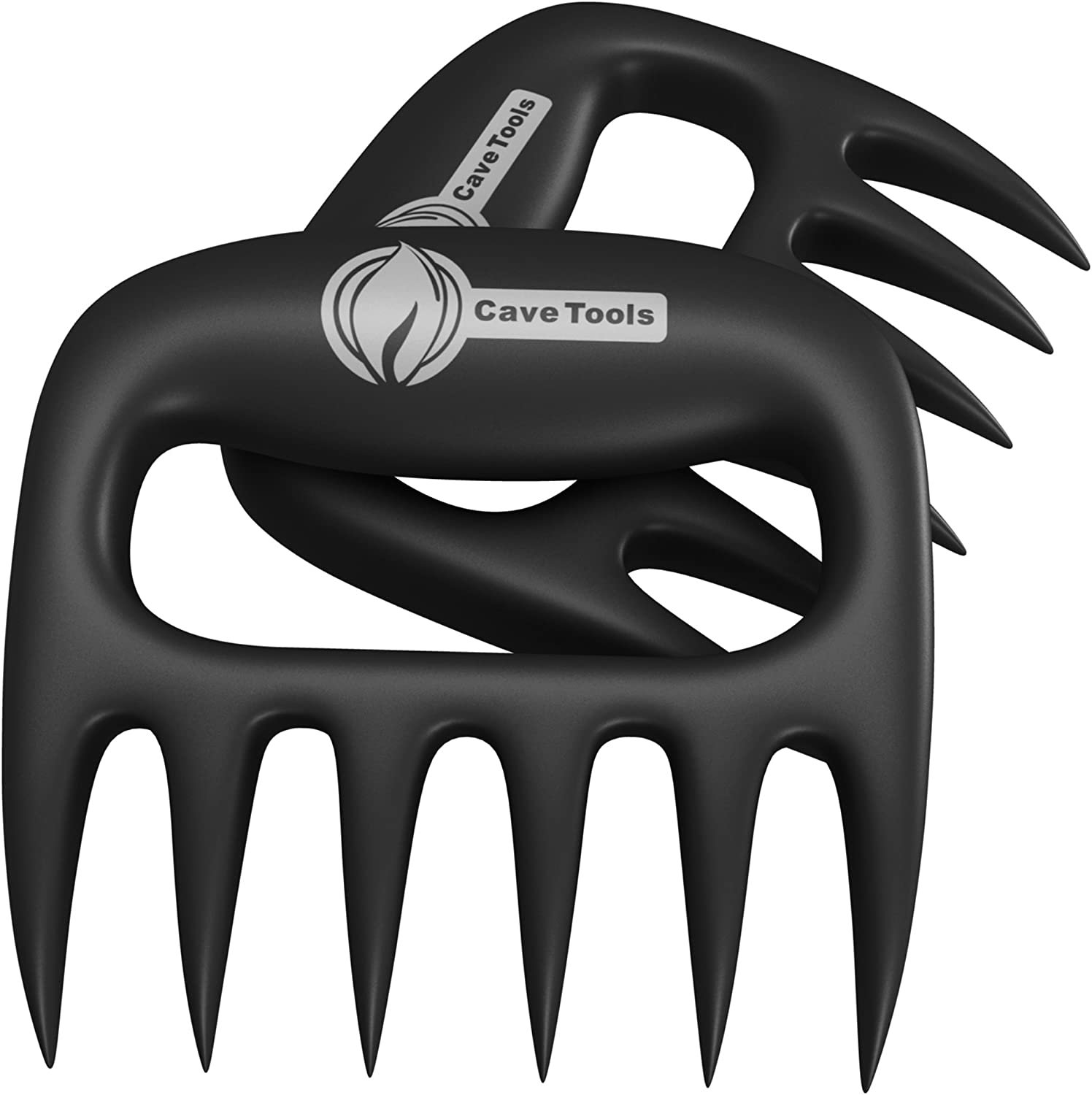 Pulled Pork Shredder Claws - Strongest BBQ Meat Forks - Shredding Handling & Carving Food - Claw Handler Set for Pulling Brisket from Grill Smoker or Slow Cooker - BPA Free Barbecue Paws 71wA3I8ybmL
