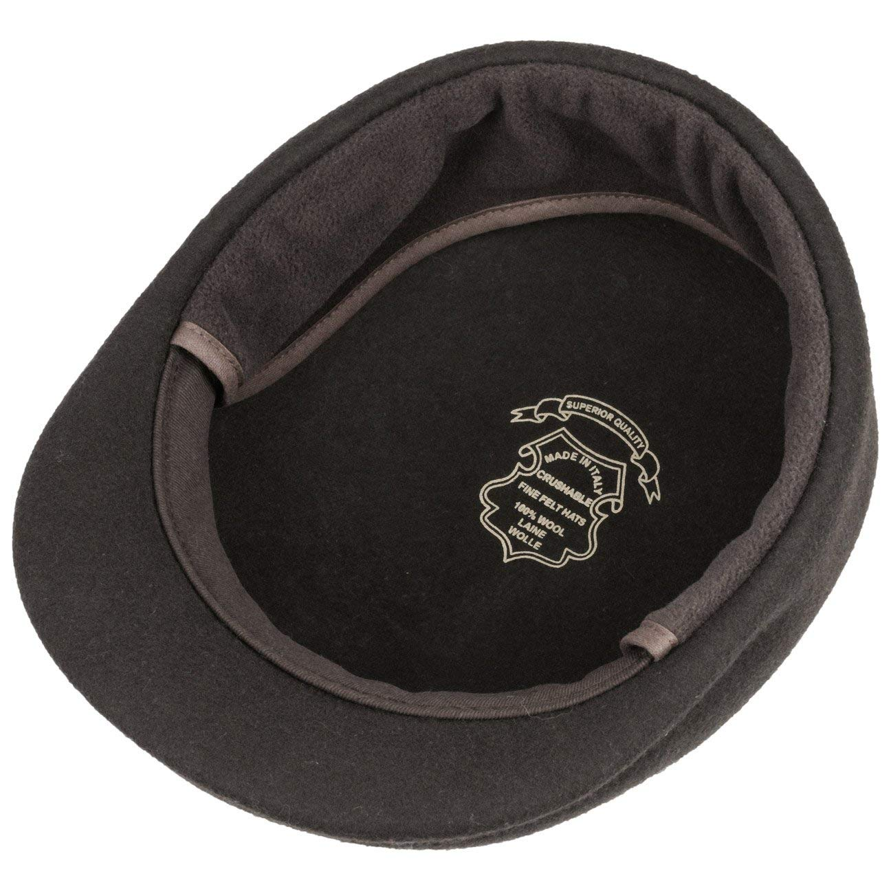 Made in Italy Lierys Outdoor Flat Cap with Ear Flaps Men