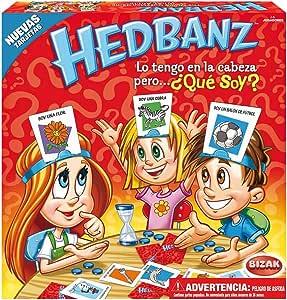 Bizak - Hedbandz Adivina ¿qué soy? 61921111: Amazon.es: Juguetes y juegos