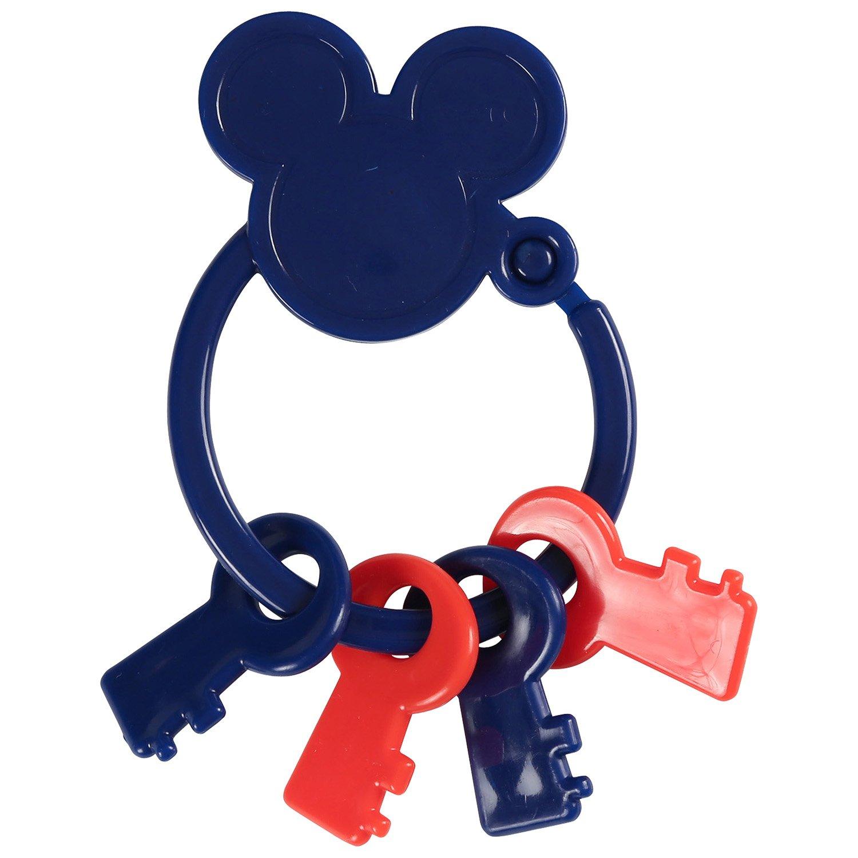 Amazon.com: Disney Mickey Mouse clave forma llavero Mordedor ...