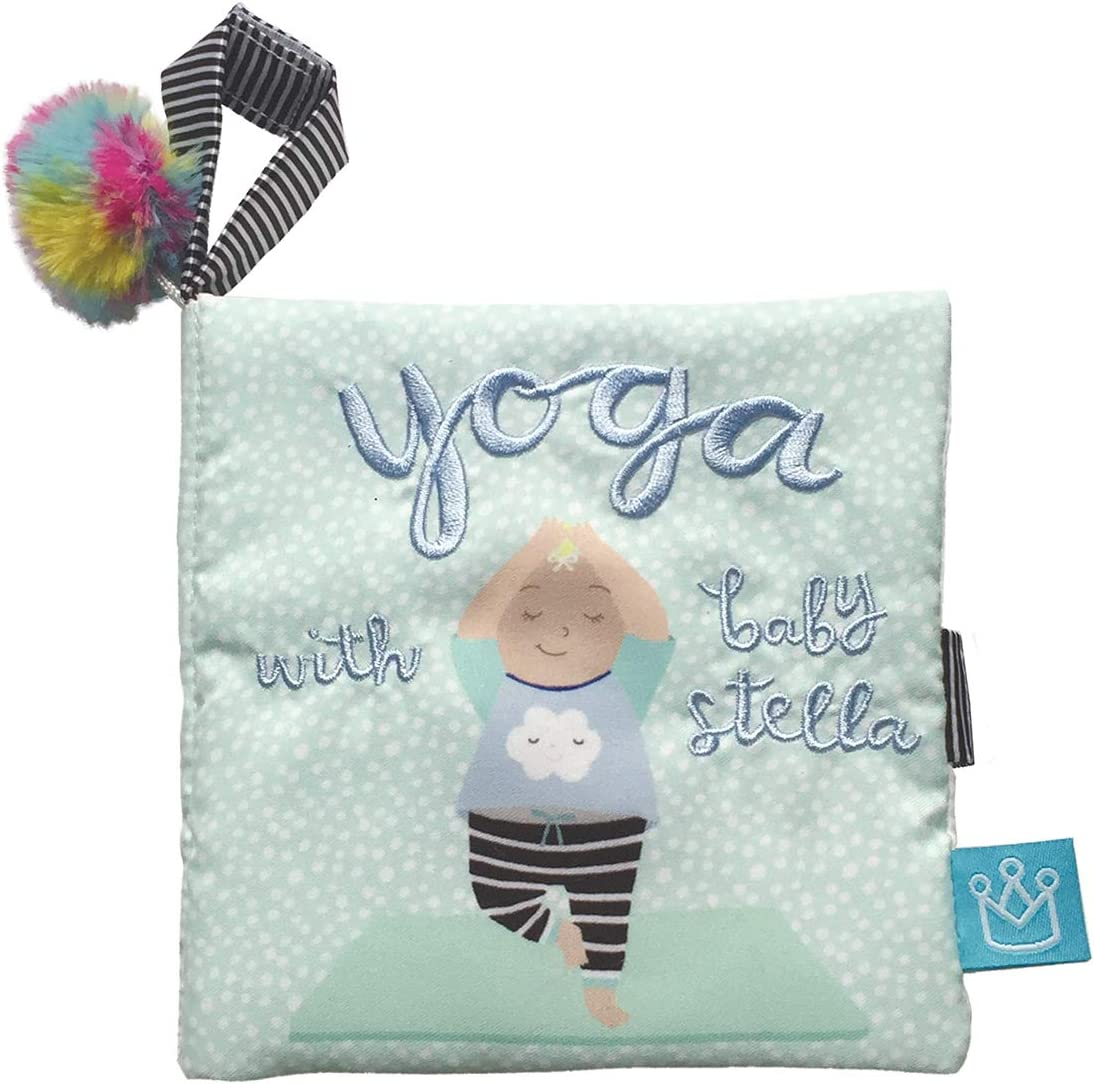 Amazon.com: Manhattan Toy Baby Stella - Suave libro de yoga ...