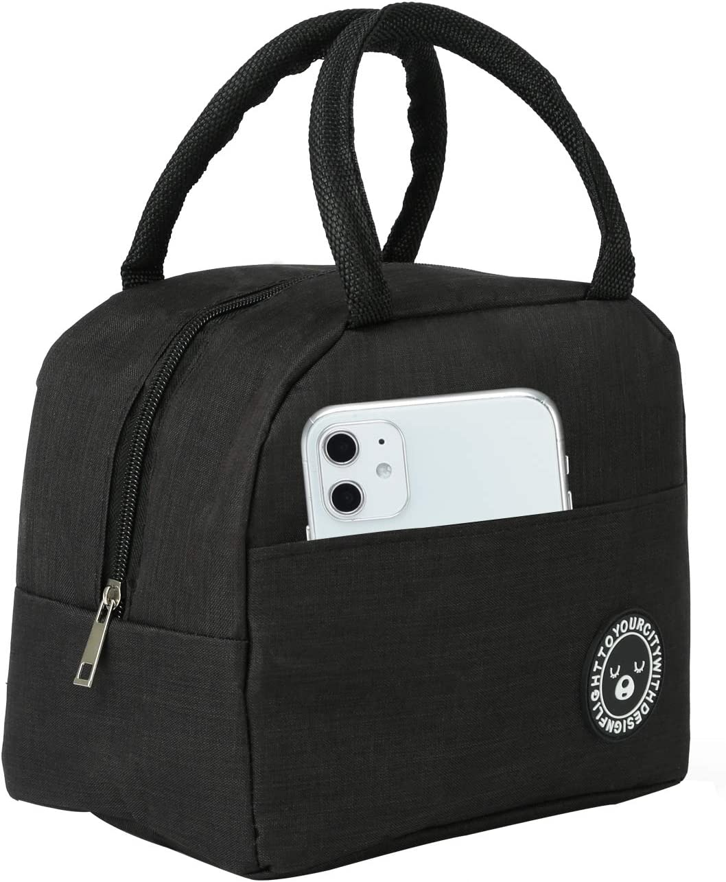Lunch Bags For Women,Large Capacity Insulated Lunch Bag, Suitable For Women, Men, Students, Work, Office, Leisure