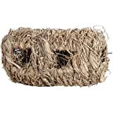 Rabbit Grass House Chew Toy Mat Bed for Hamster Guinea Pig Bunny Grass Stand Straw Non-Toxic Eco-Friendly Durable