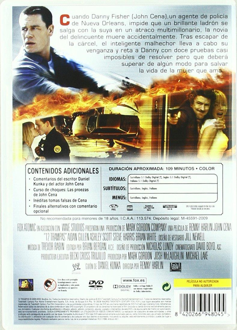 12 Trampas [DVD]: Amazon.es: John Cena, Ashley Scott, Brian ...