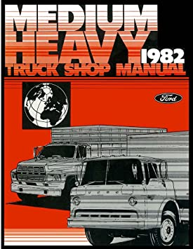 image unavailable  image not available for  colour: bishko automotive  literature 1982 ford truck f600 f700 f800 shop service repair manual