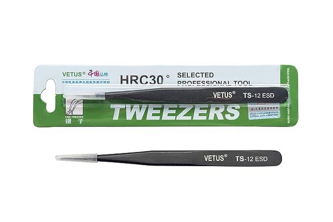 Original Genuine High Quality Steel Precise Switzerland Tweezers TS-13