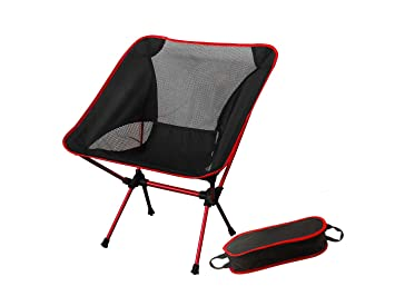 Sensational Pio Man Camping Chair Ultra Light Garden Chair Folding Fishing Chair Heavy Duty 150Kg Capacity Compact Portable Outdoor Chair With Carry Bag For Onthecornerstone Fun Painted Chair Ideas Images Onthecornerstoneorg
