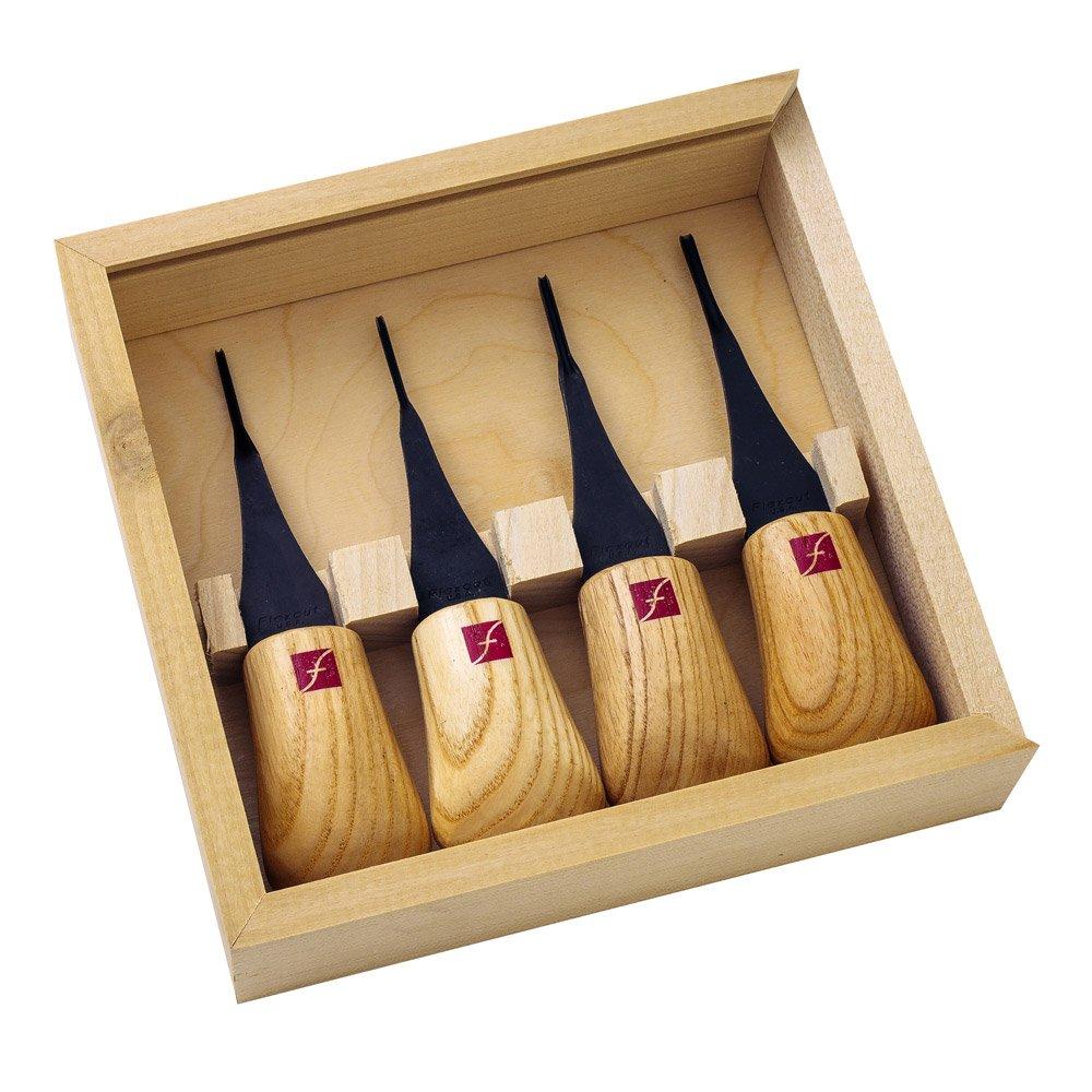 Flexcut Carving Tools, Micro Palm Craving Set, Set of 4 (FR804)