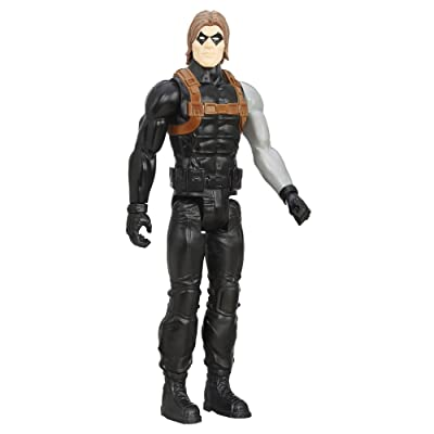 Marvel Titan Hero Series Winter Soldier: Hasbro: Toys & Games