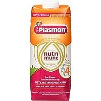 Plasmon Latte Liquido Nutri Mune 4-12 confezioni da 500 ml - Totale: 6 l