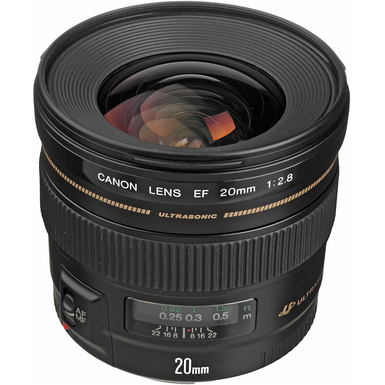 Amazon.com : Canon EF 20mm f/2.8 USM Wide-Angle Fixed Lens : Camera Lenses  : Camera & Photo