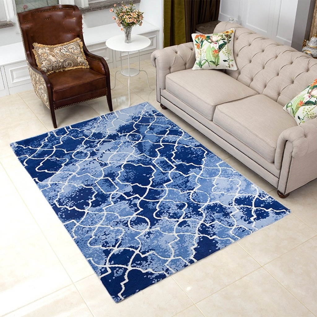Amazon.com: @home rugs Rectangular Rug, Geometric Pattern ...
