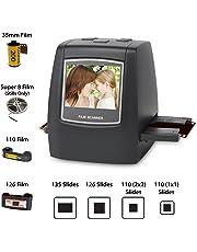 DIGITNOW! 22MP Film Scanner, Super 8/110 / 126 / 35mm Negativi e Diapositive Digitale Convertitore,Foto Salva su Scheda SD Direttamente