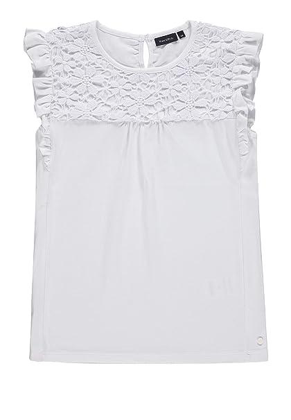Marc O Polo Kids T-Shirt Ohne Arm Camiseta para Niñas: Amazon.es ...