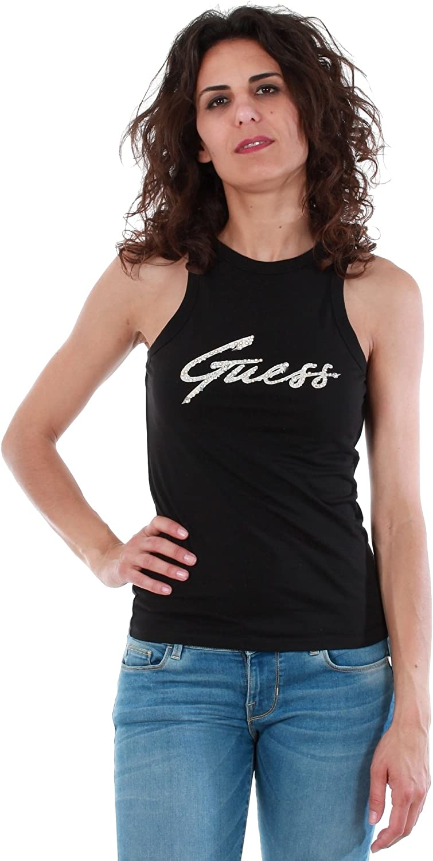 GUESS Camiseta W82I02 J1300 A996 Negro