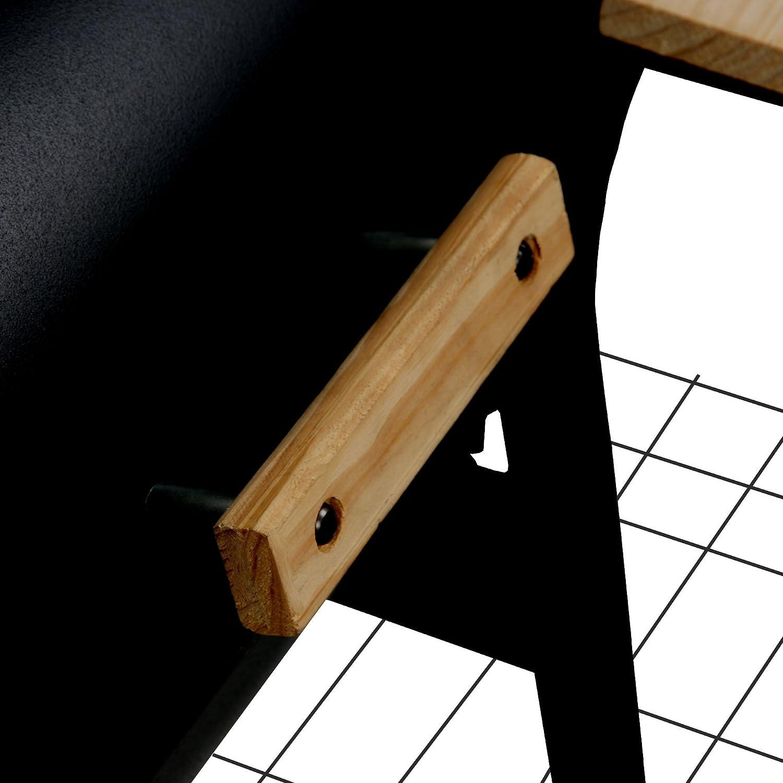 BBQ-TORO Smoker Holzkohle Grillwagen Magnolia mit Feuerbox Holzkohlegrillwagen Barbecue R/äuchergrill mit Sidefirebox BBQ Holzkohlegrill